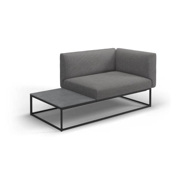 Dwell modern lounge furniture Room Gloster Maya Left Right End Table Unit Dwell Shop Modern Furniture Outdoor Lounge Dwell
