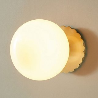Anthropologie Pearl LED Sconce