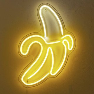 Urban Outfitters Banana LED Neon Sign