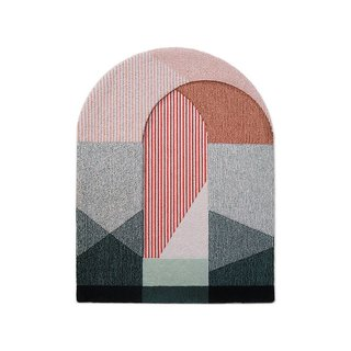 Portego Sottoportico Abstract Wool Rug