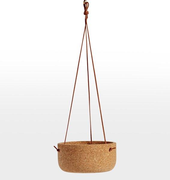 Melanie Abrantes Hanging Cork Planter