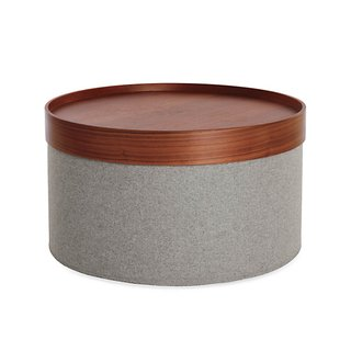 Softline Design Team Drum Pouf Tray