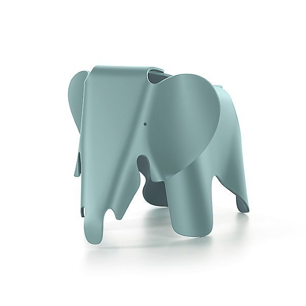 Ice Grey Vitra Eames Elephant, Small