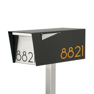 Vsons Design Anthony B Post Mount Modern Mailbox