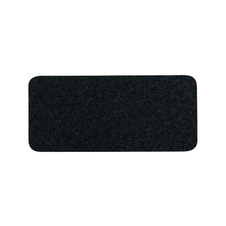 ORE Black Pet Skinny Recycled Rubber Rectangle Placemat