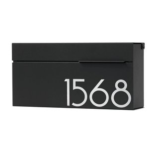 Vsons Design Louis Be Wall Mount Mailbox Engravable
