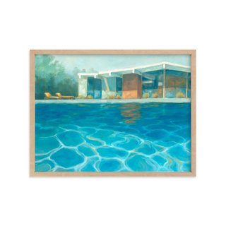 Eichler Summer by Laura Browning Print