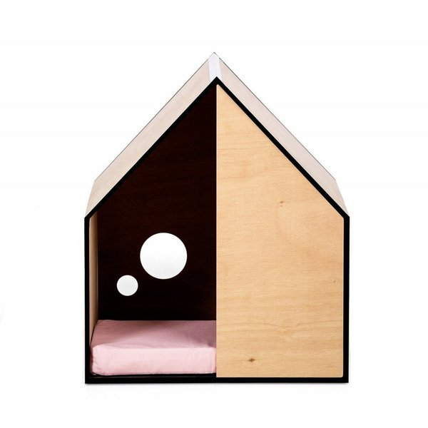 Made By Pen Dog House With Bamboo Mattress
