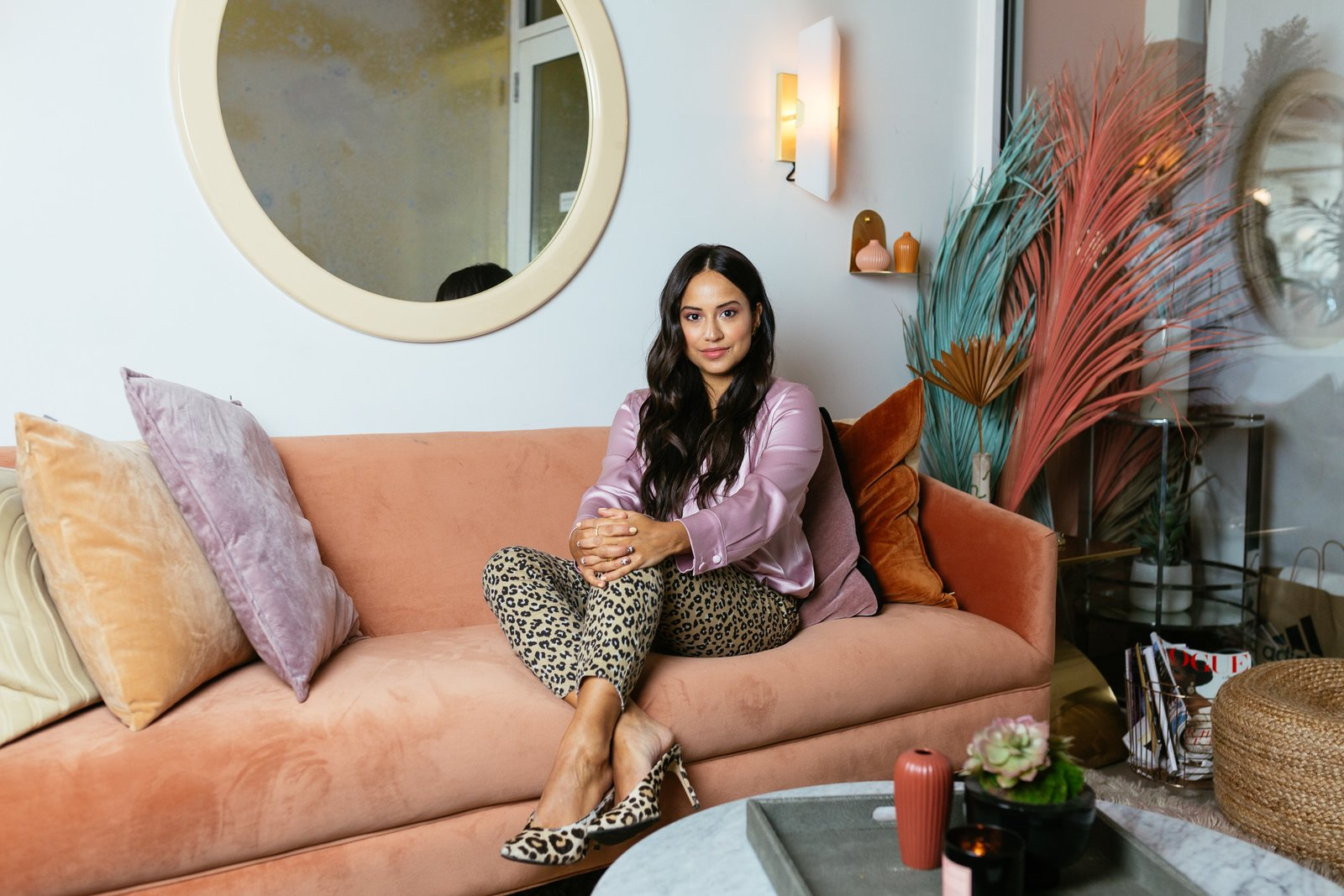 Photo 1 of 8 in Chillhouse Founder Cyndi Ramirez Reveals How to Create Cool, Collected Bathroom Vibes