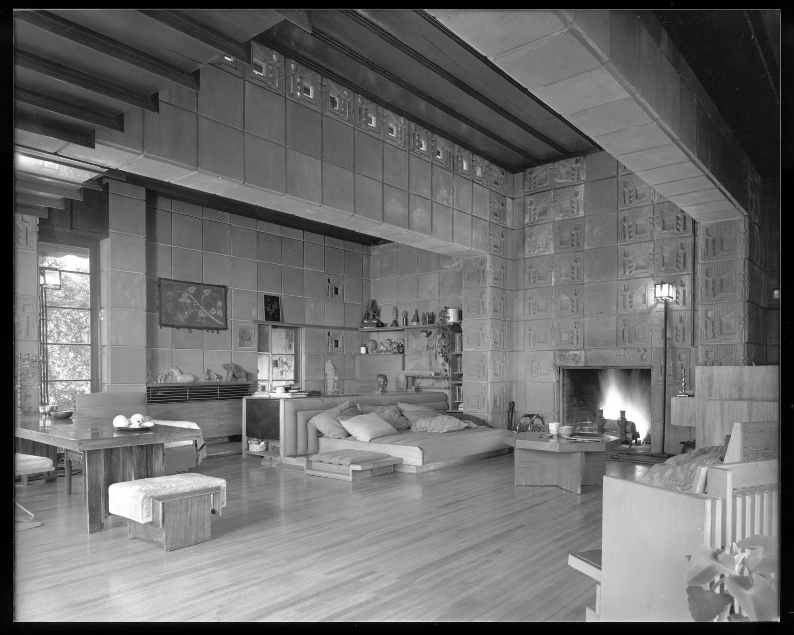 Thieves Stole $200k Worth of Pieces from Frank Lloyd Wright's Freeman House