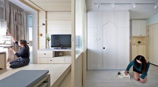 This Tiny Transforming Apartment Is a Playground For Pets