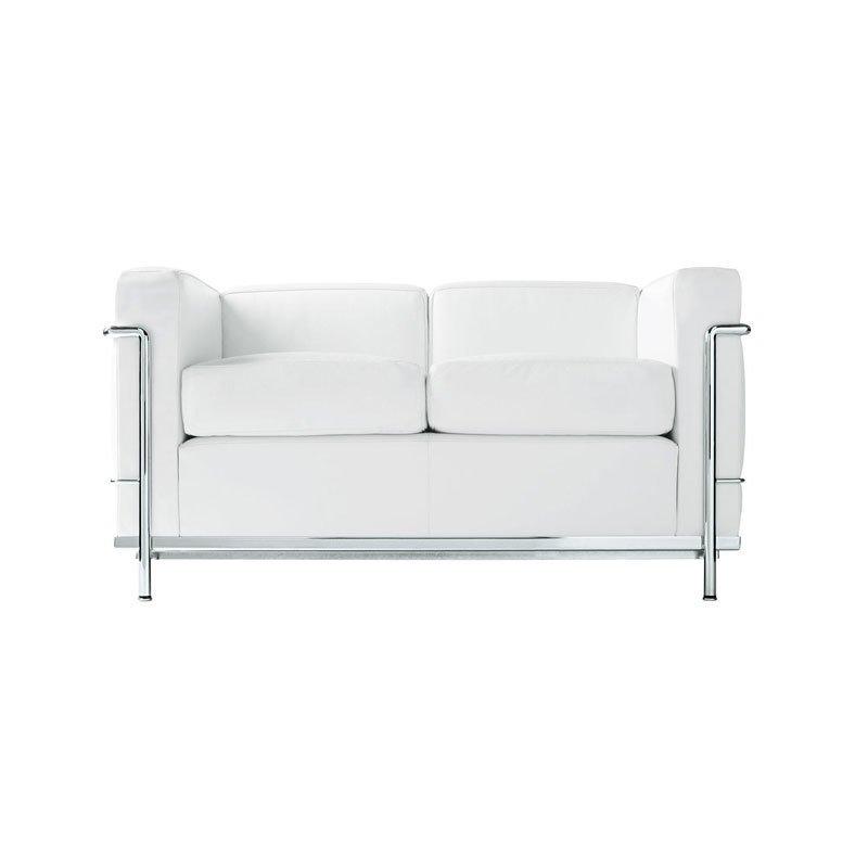 Cassina LC2 Petit Modele Two-Seat Sofa