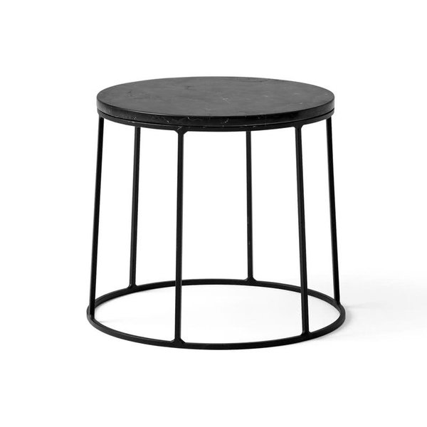 Menu Wire Marble Top and Base