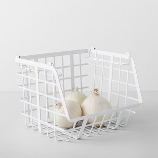 Made By Design Open Front Stackable Basket