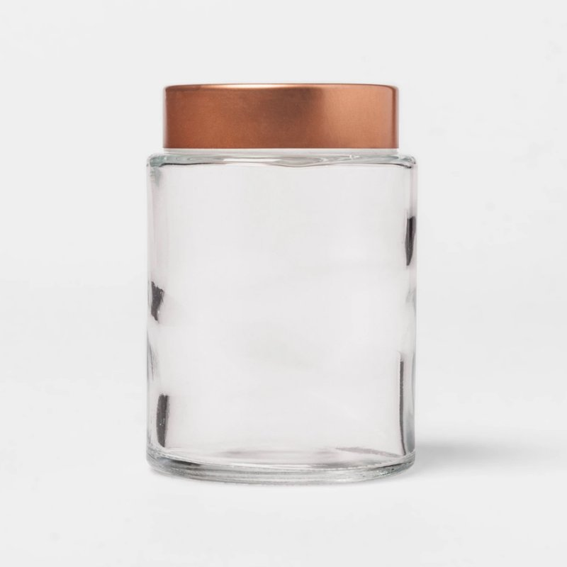 Threshold Round Glass Spice Jar
