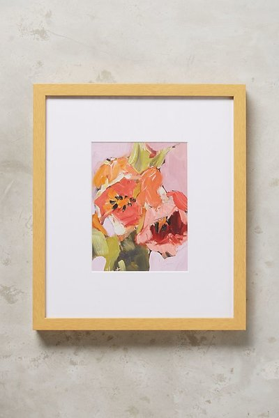 Orange Tulips Wall Art
