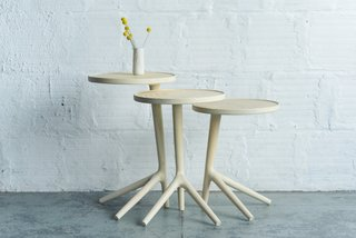The White Ash Tripod Table