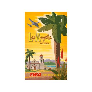 Fly TWA: Los Angeles Print