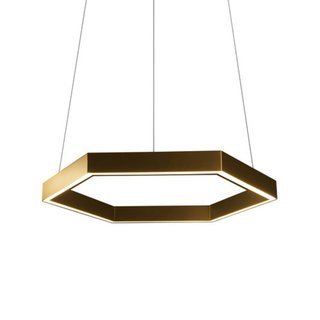 Resident Hex 750 Brass Pendant Light