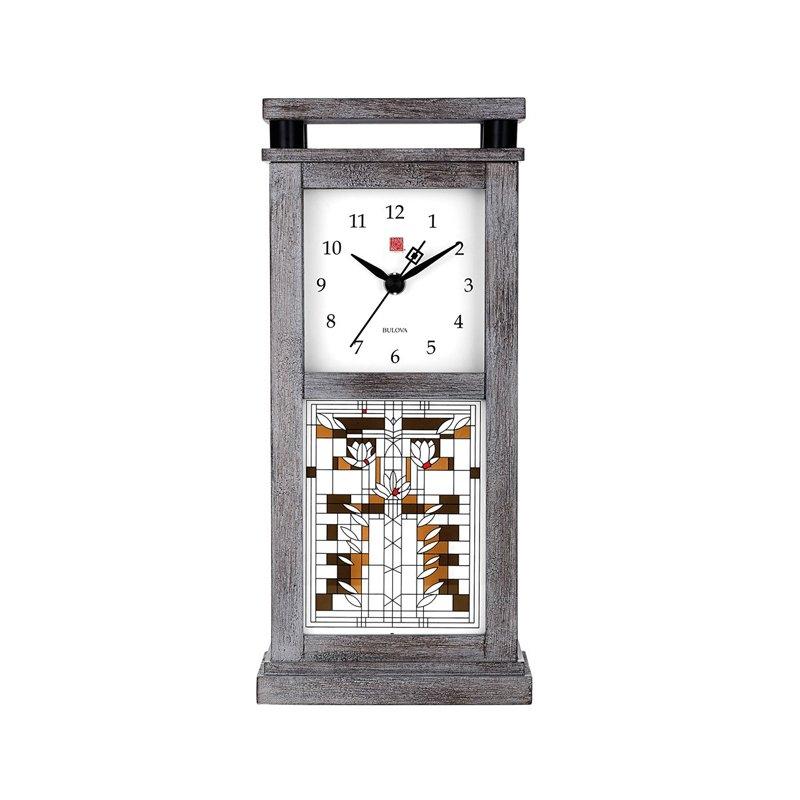 Frank Lloyd Wright Waterlilies Bluetooth Wireless Speaker Clock