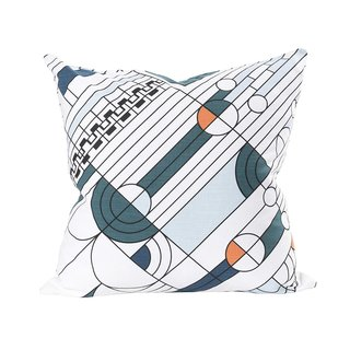 Frank Lloyd Wright Saguaro Throw Pillow Cover