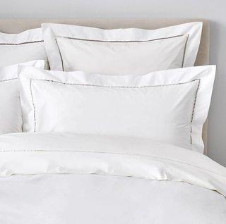 The White Company Santorini Cotton Flat Sheet