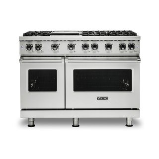 Viking 48 Inch Wide Standing Natural Gas Range