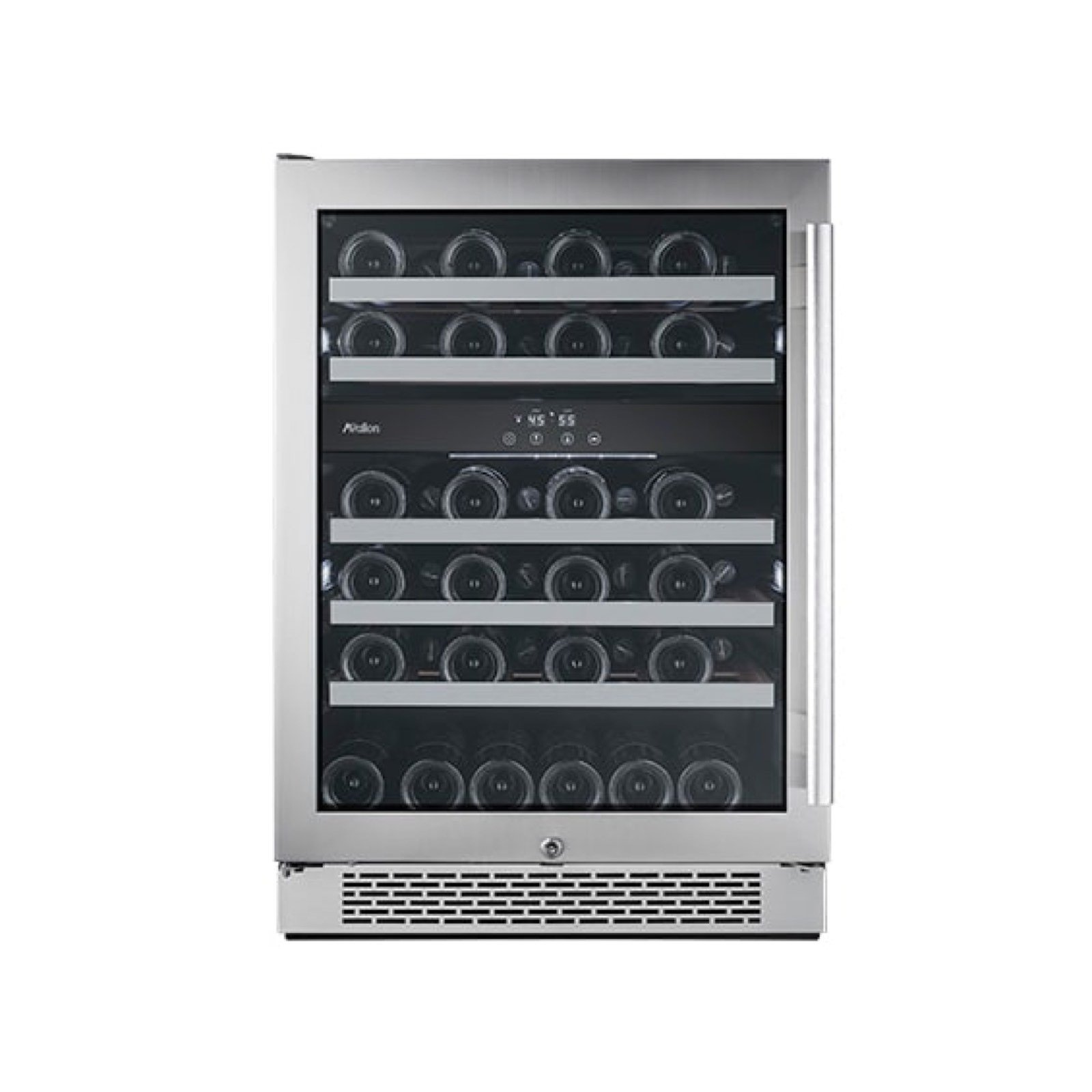 Avallon 46 Bottle Capacity Dual Zone Wine Cooler by Build