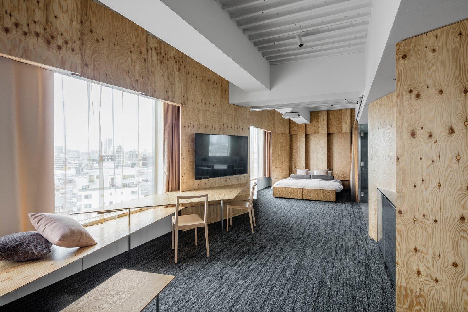 Bedroom, Carpet Floor, and Bed  ONE@Tokyo