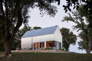 A Limestone Cottage in Kansas Is Reborn With a Corrugated Steel Addition