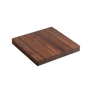 Kohler Stages Collection American Walnut Hardwood Cutting Board