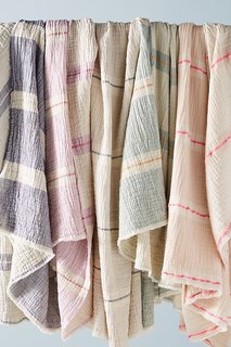 Anthropologie Bibi Throw Blanket