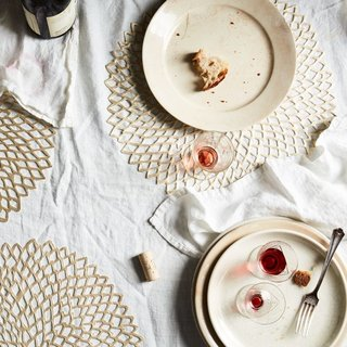 Placemat Designer Sandy Chilewich Is Giving You Permission to Break All the Table Setting Rules - Photo 1 of 3 -