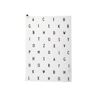 Design Letters Arne Jacobsen Tea Towel