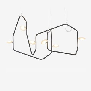 Rich Brilliant Willing Palindrome 6 Chandelier