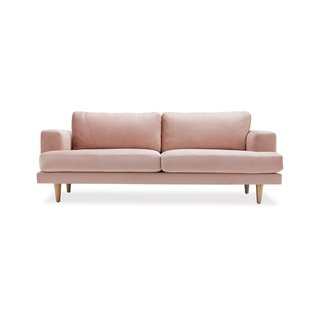 Drew Barrymore Flower Home Velvet Track Arm Sofa