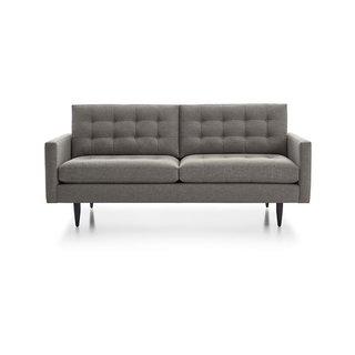 Crate & Barrel Petrie Midcentury Sofa