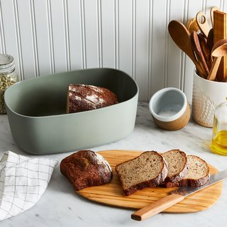 Rig-Tig Modern Bread Box with Reversible Lid