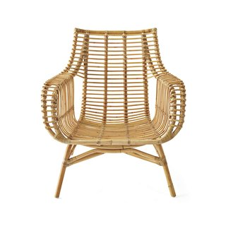 Serena & Lily Venice Rattan Chair - Natural