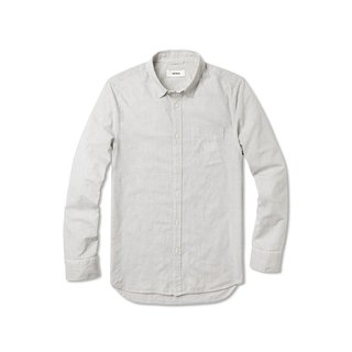 Buck Mason Rinsed Fine Stripe Shirt