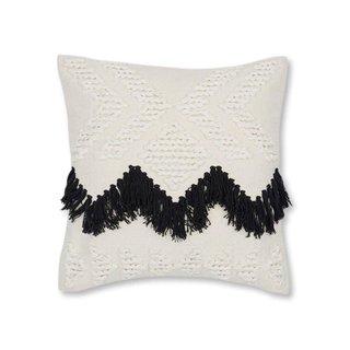 Joybird Fringe (Black) Pillow