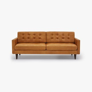 Joybird Eliot Leather Sofa