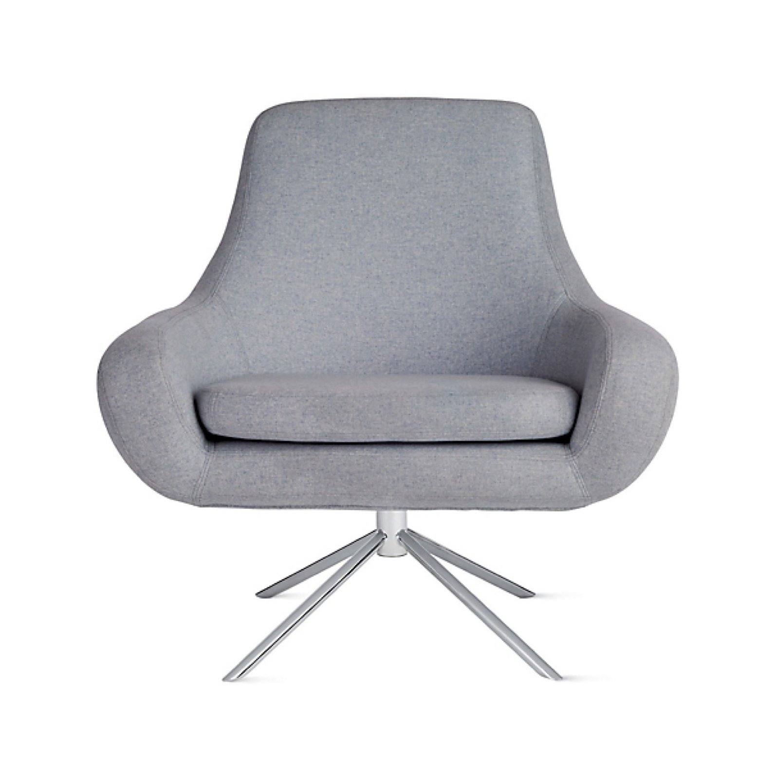 Terrific Softline Noomi Swivel Chair By Design Within Reach Dwell Creativecarmelina Interior Chair Design Creativecarmelinacom