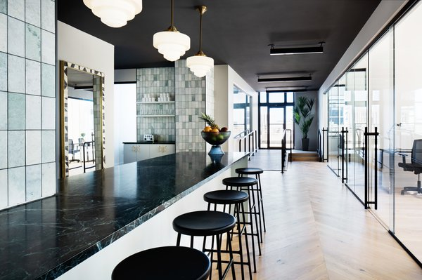 An Old Philadelphia Penthouse Is Brilliantly Transformed Into a Snazzy Co-Working Space