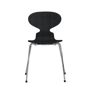 Fritz Hansen Ant Chair With 4 Legs in Colored Ash