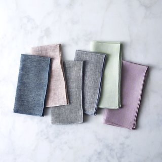 Objective Linen Chambray Napkins (Set of 4)