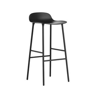 Normann Copenhagen Steel Base Form Barstool