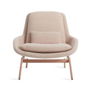 Blu Dot Field Leather Lounge Chair