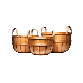 Peterboro Basket Company Oxford Storage Basket Set