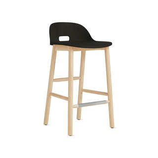 Emeco Alfi Low-Back Counter Stool